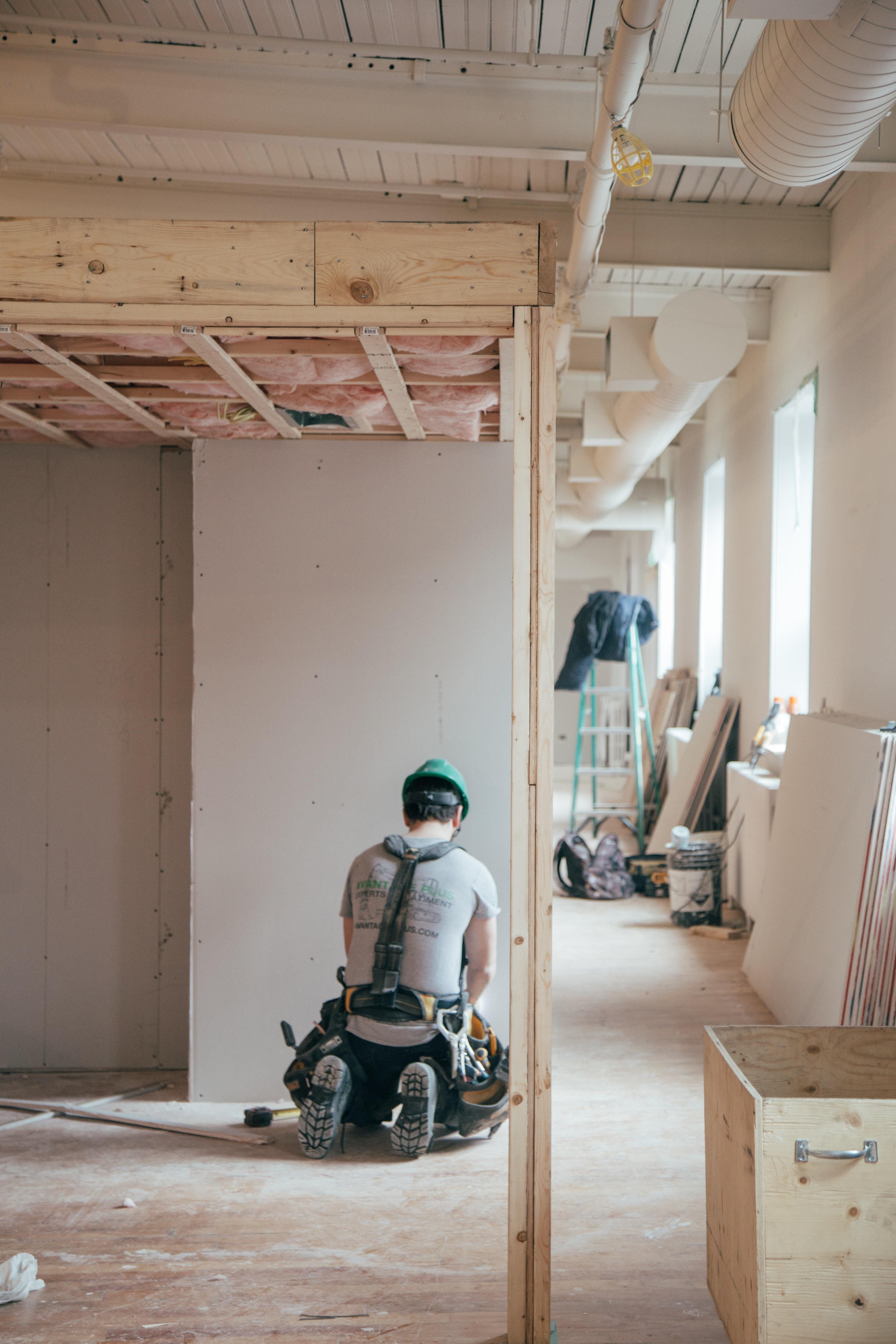location meublée en phase de rénovation