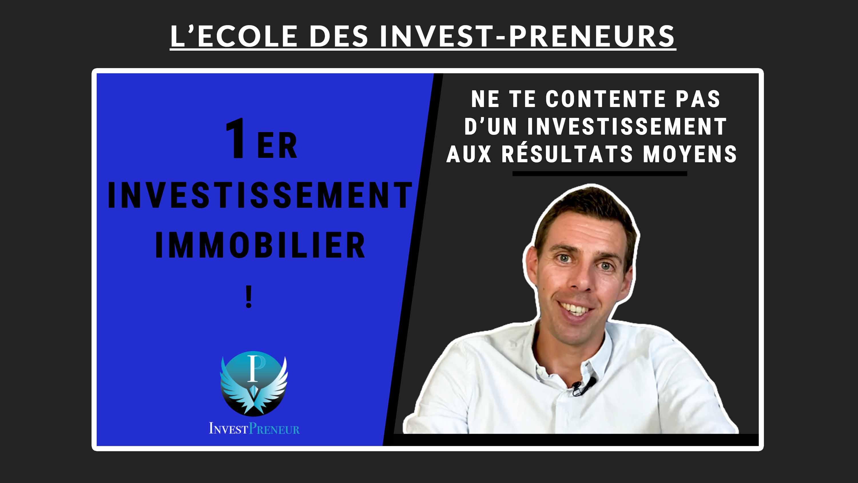 image en avant - premier investissement immobilier clés de la réussite Julien Malengo
